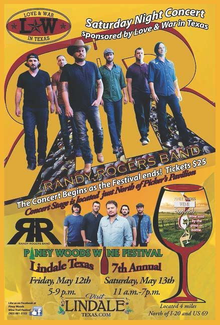 randy rogers poster small