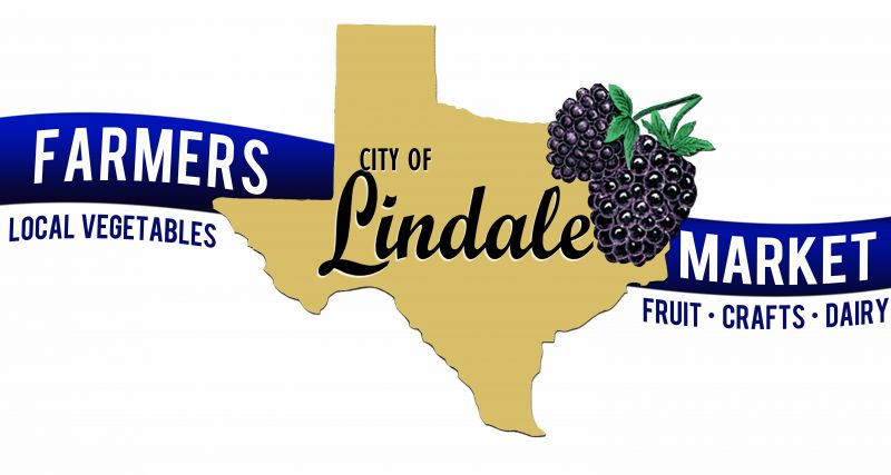 Farmers Market logo with state of Texas and berries
