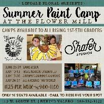 LINDALE FLORAL - SUMMER PAINT CAMP
